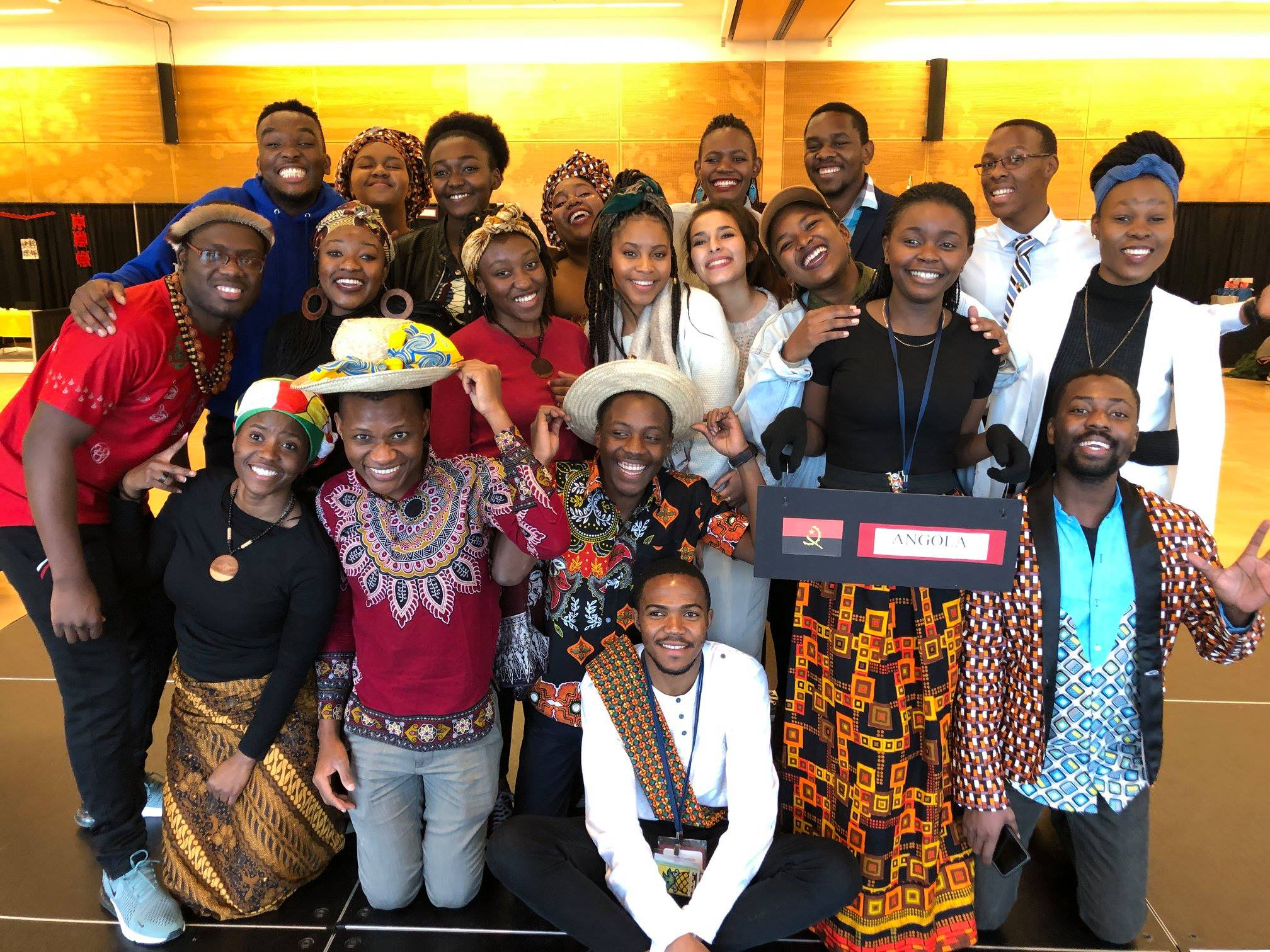 Participants in the 2019 SUSI on Civic Engagement with Southern Africa at the    FIUTS CulturalFest International Expo    in February