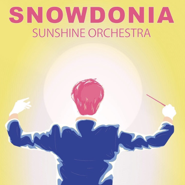 """""""Sunshine Orchestra"""" single cover by Misael Siegert"""