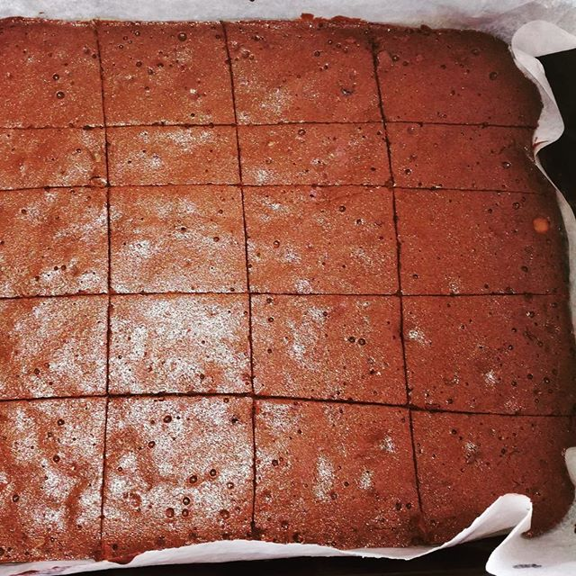 Lucky group tonight! Check out Jodie's treat, it's gluten free, using coconut sugar, extra chocolate chip brownie, with organic eggs, coco powered & coconut oil! Yummy! 🙏🏼 There are 3 places still available for tonight restorative yoga & yoga nidra 2 hour special 🕊