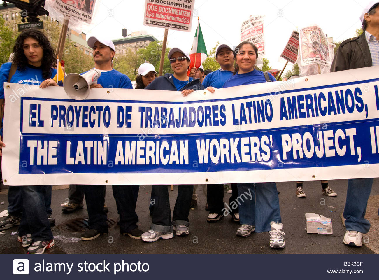 immigrants-march-for-amnesty-equal-rights-legalization-racial-equality-BBK3CF.jpg