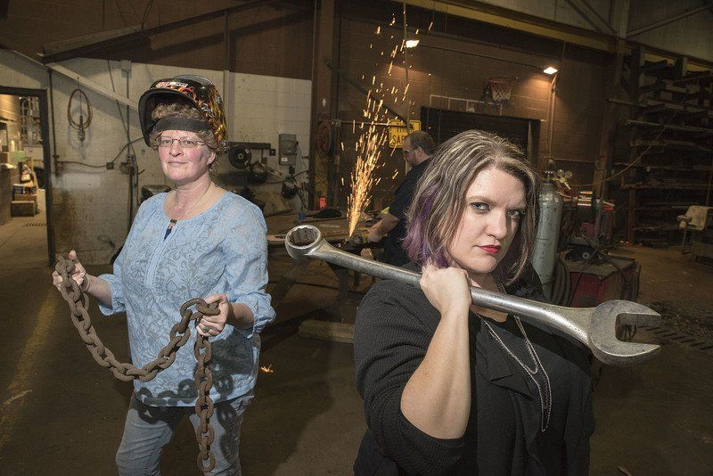 Cover image courtesy of: - http://www.niagara-gazette.com/news/lifestyles/women-of-steel-new-group-of-union-workers-looks-to/article_da84f812-cf9a-5b71-b494-868a378dafab.html
