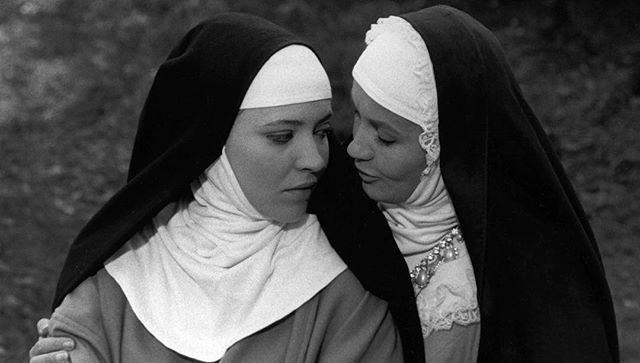 Paris, 1750s. Forced to take her vows, a rebellious nun is shuttled between convents with wildly different Mothers Superior whose treatment range from maternal concern to sadism to Sapphic desire. An enduring symbol of the French New Wave, LA RELIGIEUSE (1966) was rewritten 3 times before passing French censors only to be banned upon its release... See what all the fuss is about @FilmForumNYC.⠀ ⠀ WHY GO? The digitally restored film will only screen at two locations: NYC's own Film Forum and  Laemmle's Royal Theater in Los Angeles, making this screening one of the most exclusive cinematic experiences in the country.⠀ ⠀ WHAT: LA RELIGIEUSE (1966)  WHERE: @FilmForumNYC⠀ WHEN: thru Jan 17⠀ 🎟️: $9 - $15⠀ ⠀ #CulturePass #AnnaKarina #FrenchCinema #FrenchNewWave #JacquesRivette #FilmForum #jeanlucgodard #frenchfilm #classicfilm #studiocanal #filmsociety #LaReligieuse #cannesclassics #cannesfestival #cannes2018  #frenchactress  #nun #Diderot #cinemafrancais #nouvellevague #godard #jeanlucgodard #censured #restoration #cinematheque #60s⠀