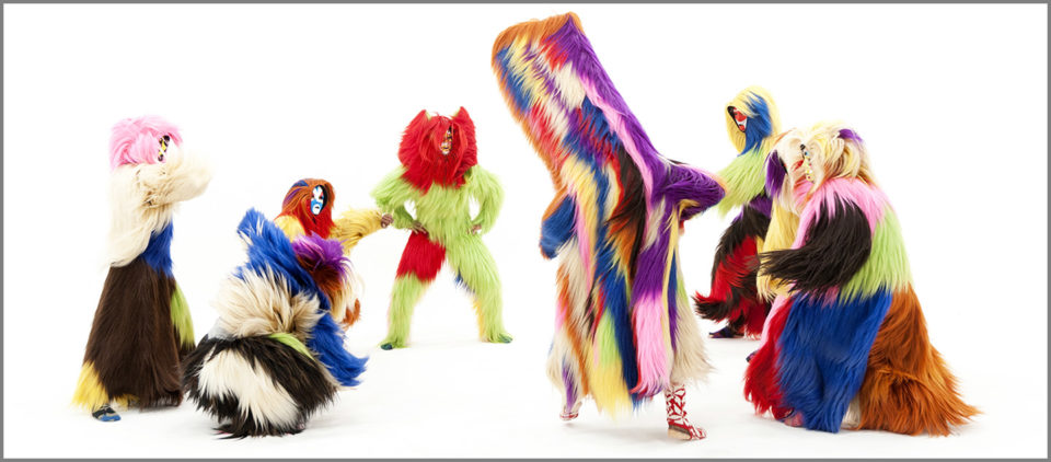 (Nick Cave, Soundsuits)   Image credit: James Prinz Photography