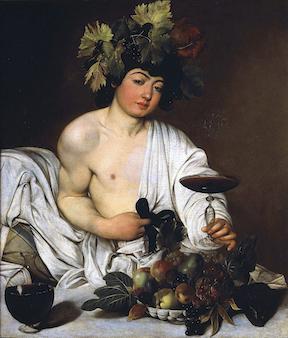 Caravaggio,  Bacchus , 1595