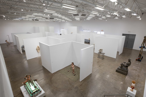 Hudson Valley MOCA exhibition space. Photo by Maksim Akelin.