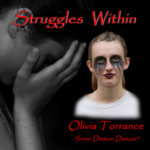 Olivia Torrance in makeup- Struggles Within- ifilmgroup.org