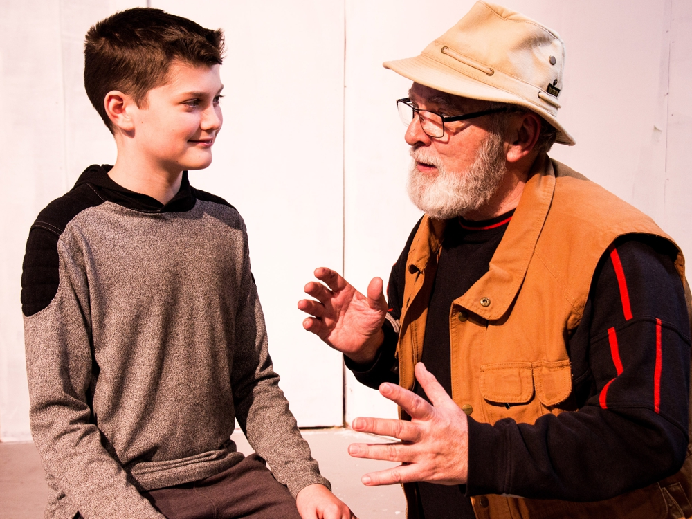 Don Hickey and George scene drama therapy iFilmGroup.jpg