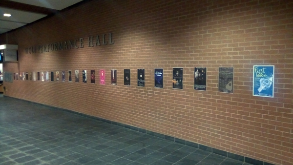 iFilmGroup visit ti Wolfe Hall wall of First take posters.jpg