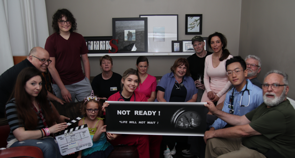 """Day Five Cast and Crew of Movie """"Not Ready"""". in association with iFilmGroup"""