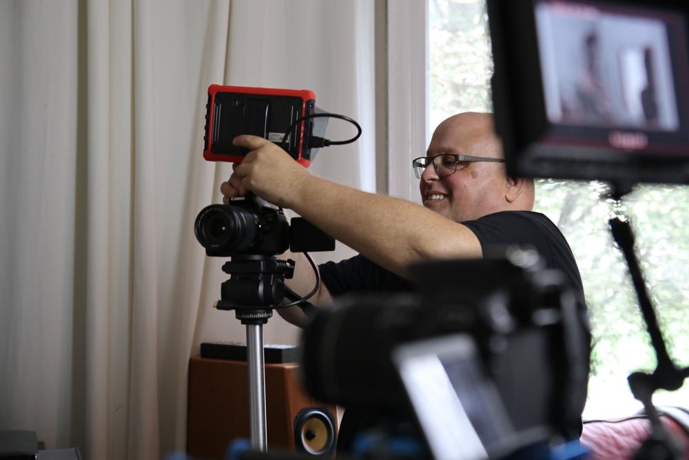 iFilmGroup Matthew Marshall on set.png