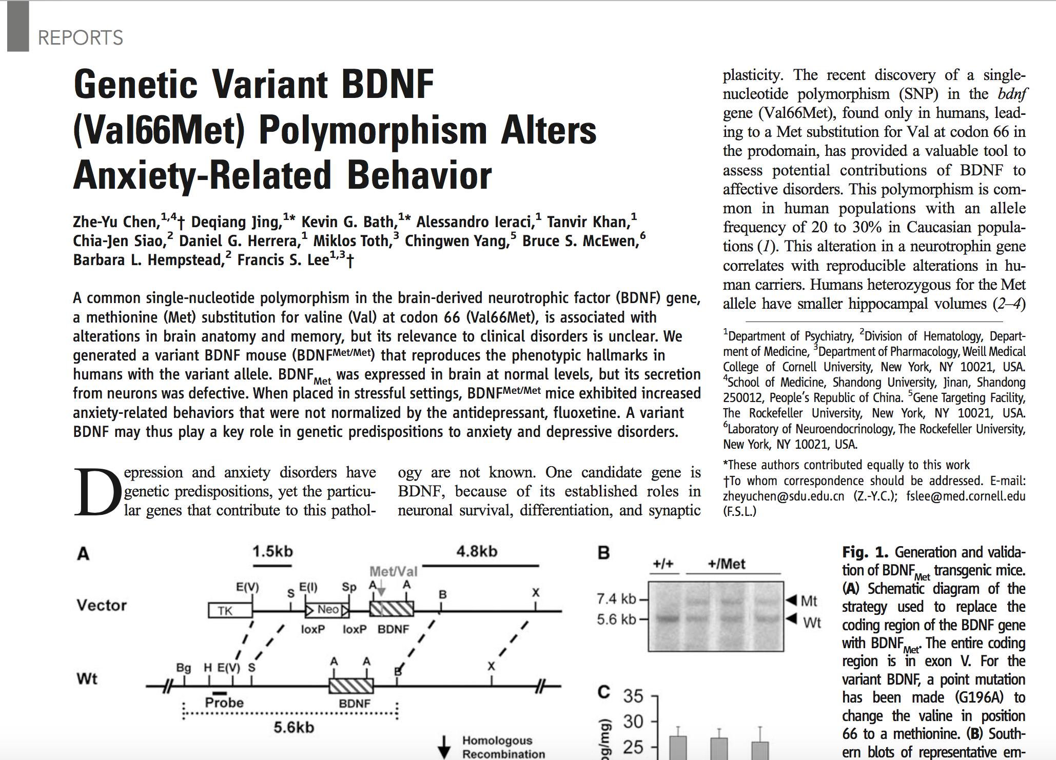 Chen et al., 2006.   Science.