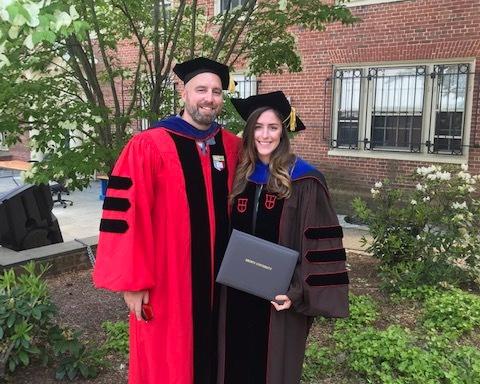 Haley getting her PhD
