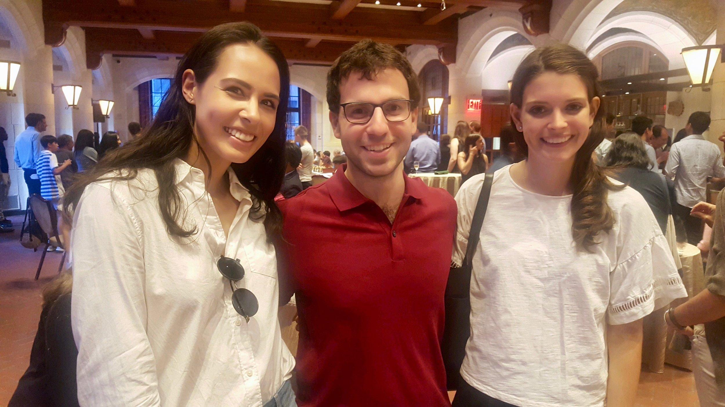 Karsten, Grandmaster Robert Hess, and Nicole