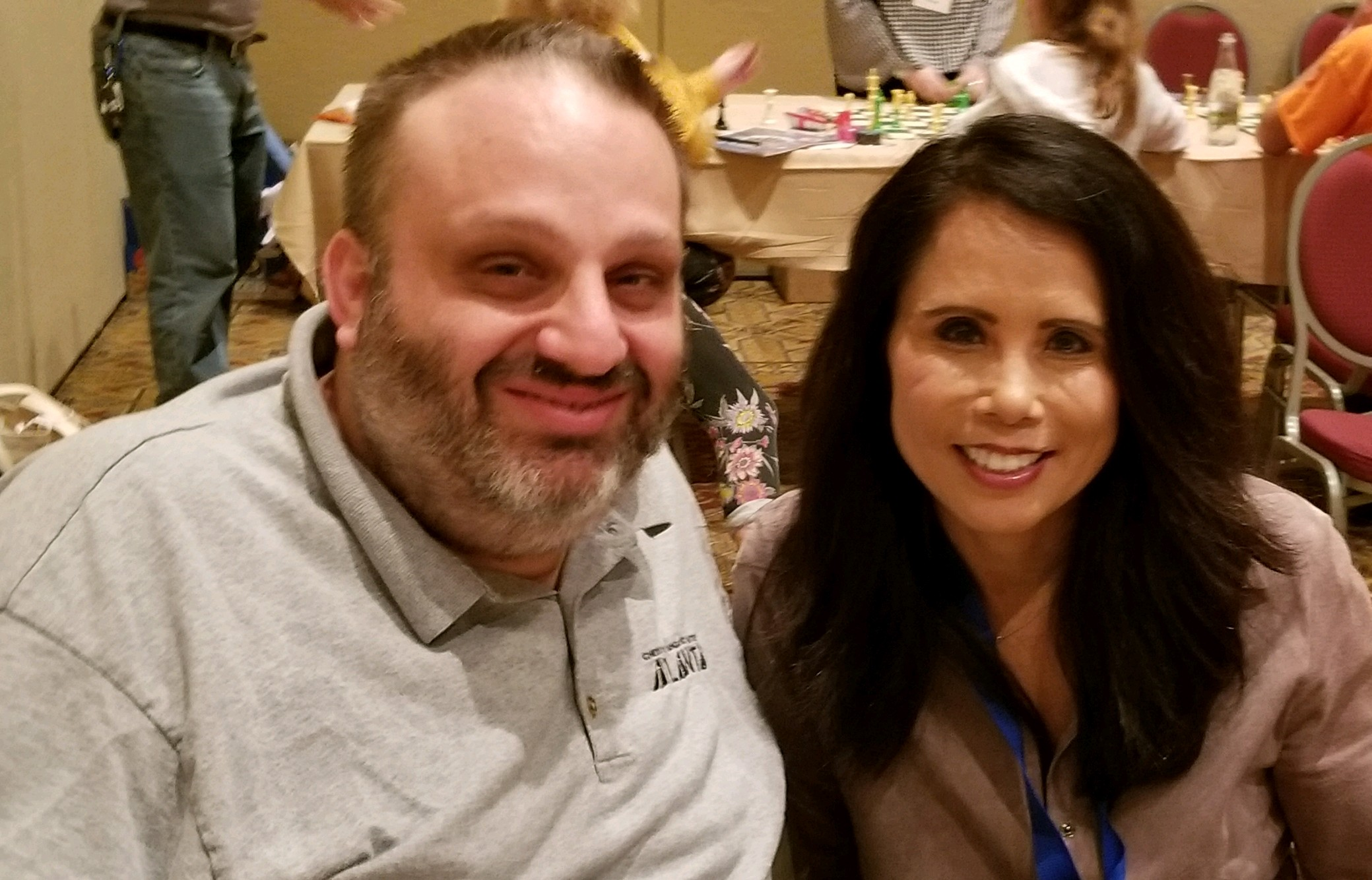 Grandmaster Ben Finegold and VP Kimberly