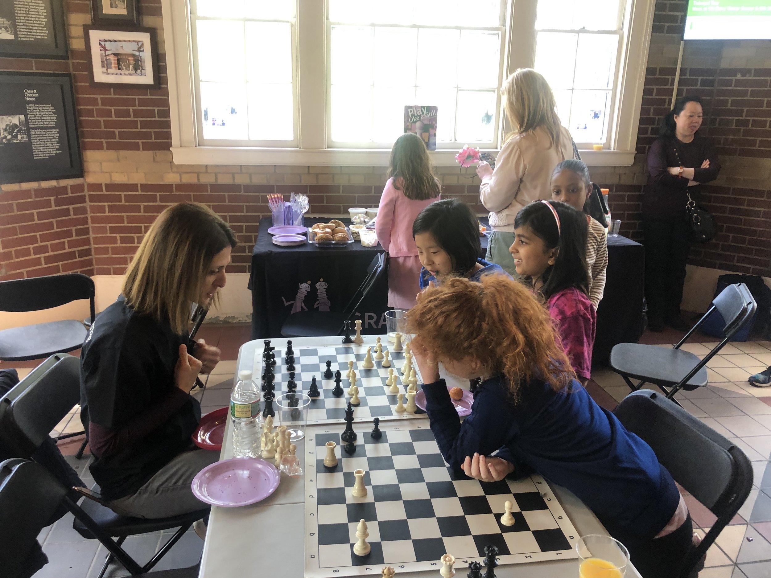 Woman Grandmaster Rusa Goletiani