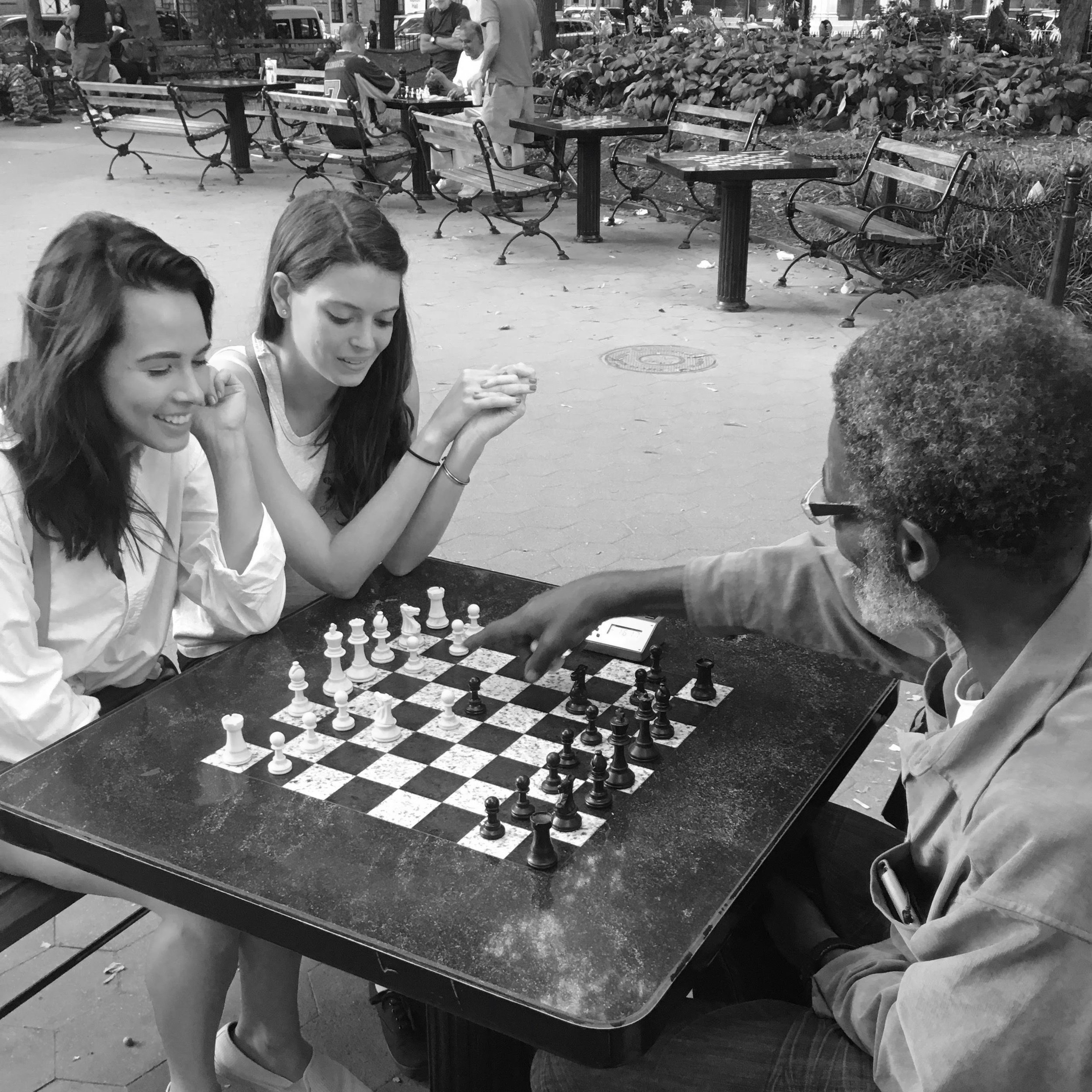 Our History - In 1997 and at the age of six, Nicole Maffeo and Karsten McVay played their first chess match together. They went on to compete against one another for over a decade as top nationally ranked players. 20+ years later, Nicole and Karsten reconnected over coffee at Mud Park in the East Village and the idea for this non-profit was born.