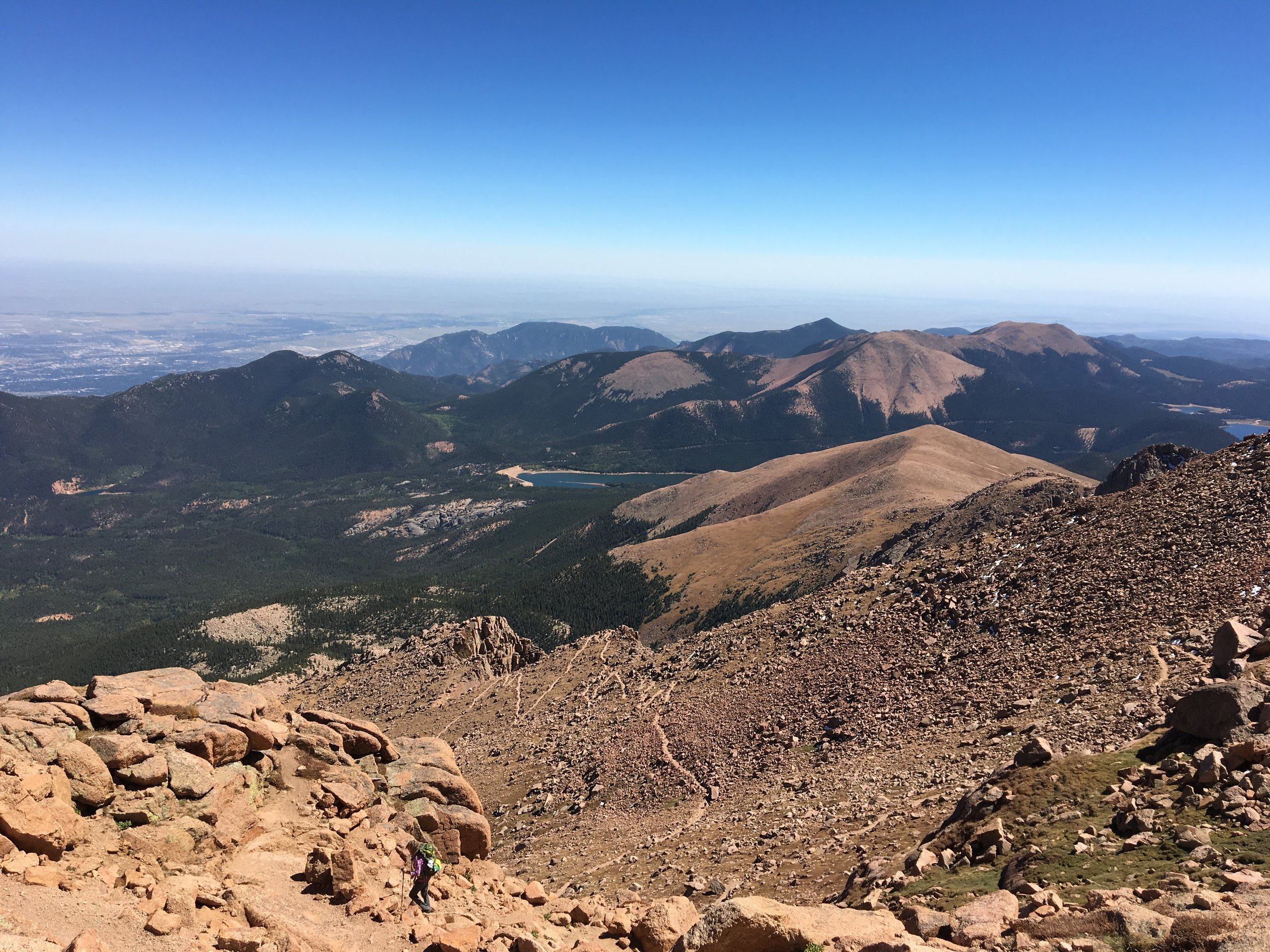 Diet culture robbed me of my ability to live in-the-moment at the top of Pikes Peak at age 30…     - when I was more concerned about the impact of calories on my waistline than I was about the gorgeous views at 14,111 feet.