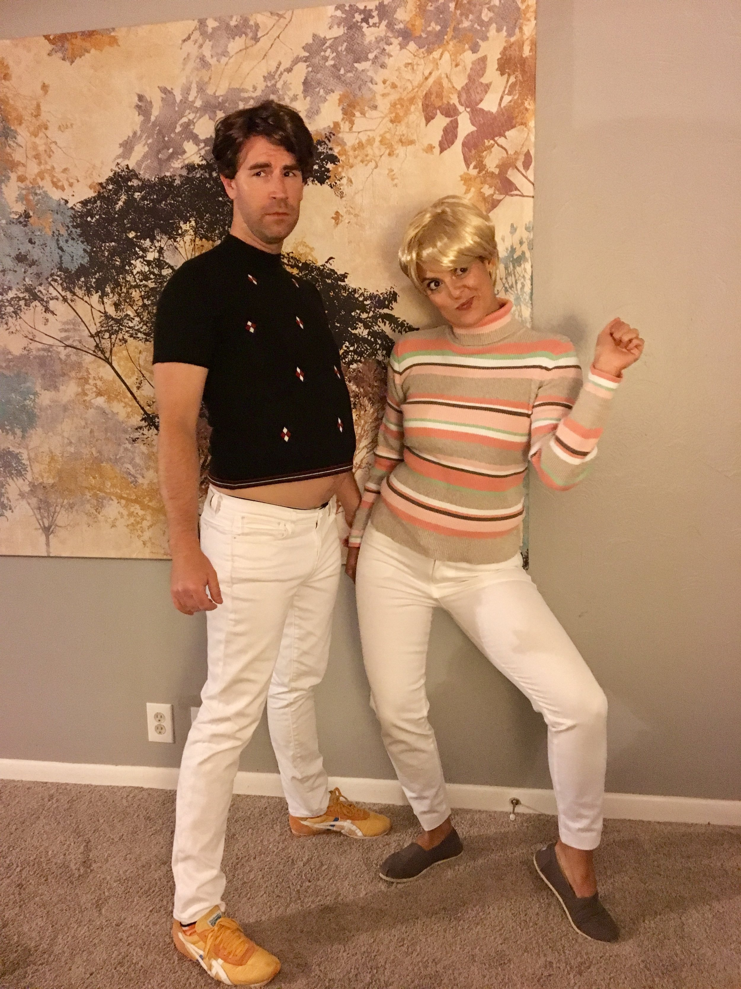 Why? Because tight pants.