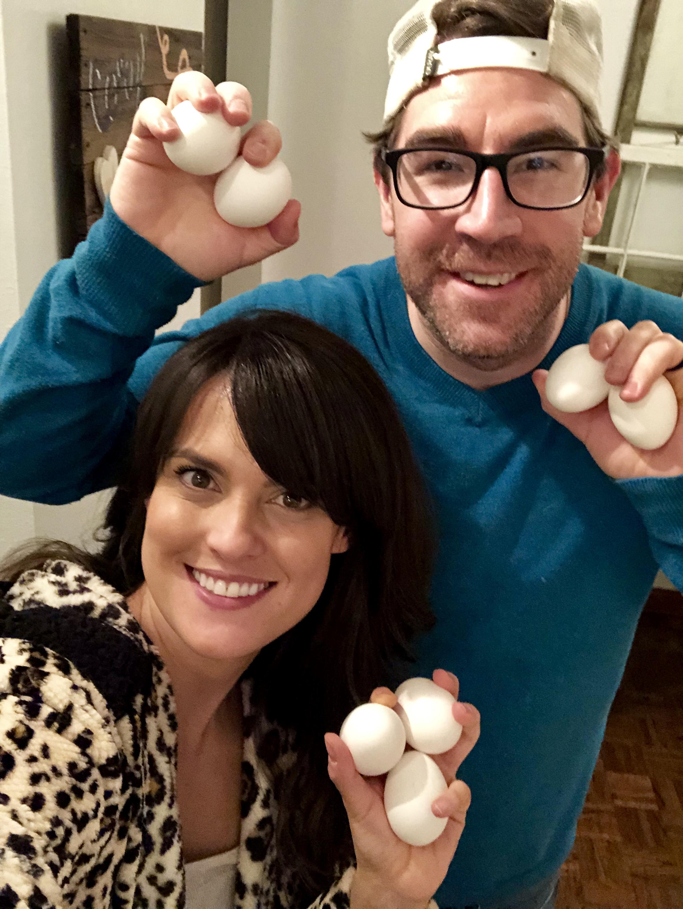 7 eggs!