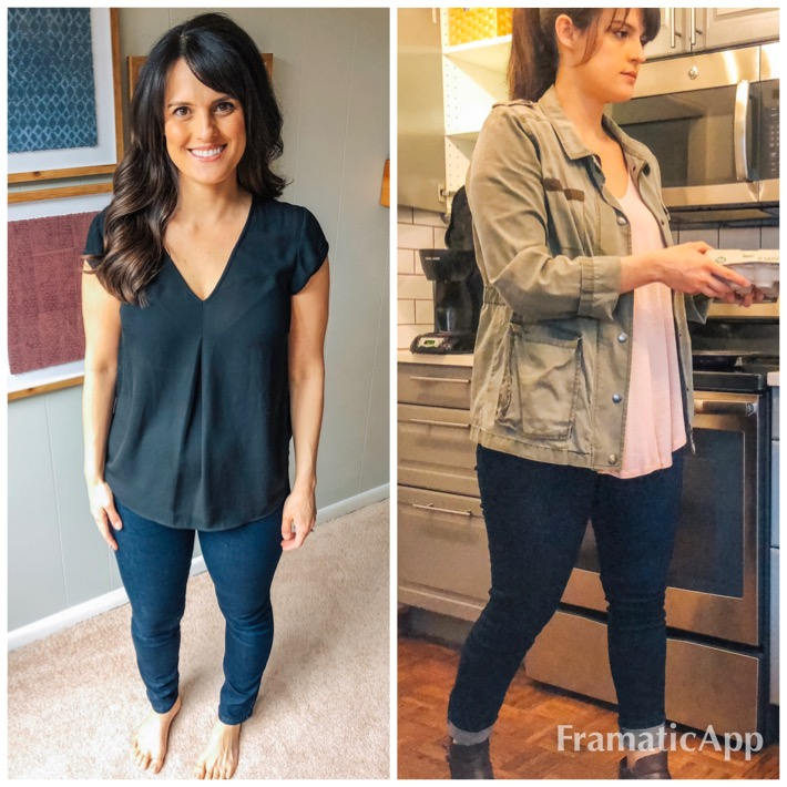 Posed vs. live action - Left: posed, unnatural angleRight: Tuesday morning, breakfast cooking, real life.