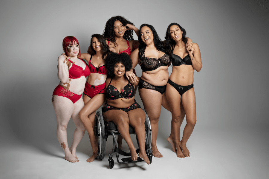 Gorgeous, diverse bodies. (Photo credit:  here )