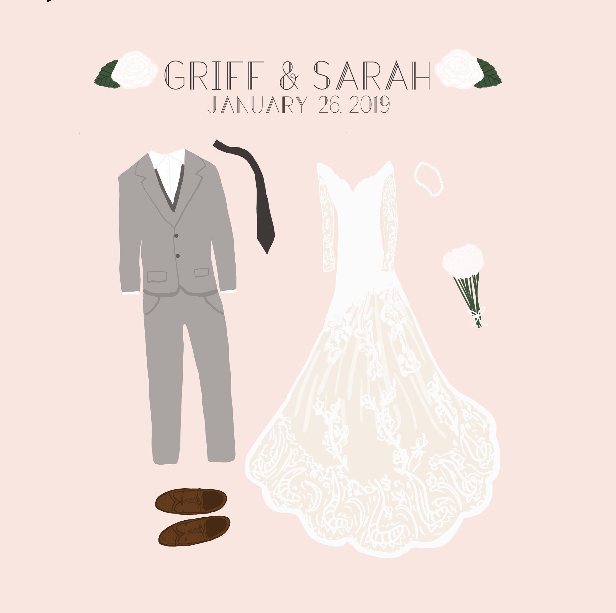 Wedding Illustrations -