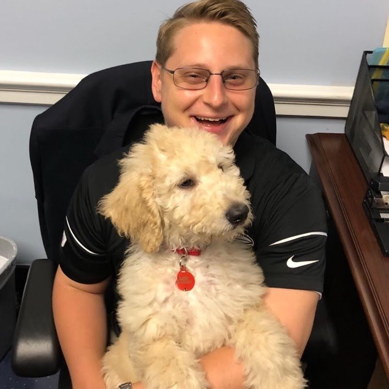 Ryan Bruno - Ryan grew up in Baltimore and moved to the D.C. area to work on Capitol Hill. He is a lifelong lover of pets and grew up with two dogs and a cat. He enjoys spending his weekends fulfilling the desire to spend more time with cats and dogs.
