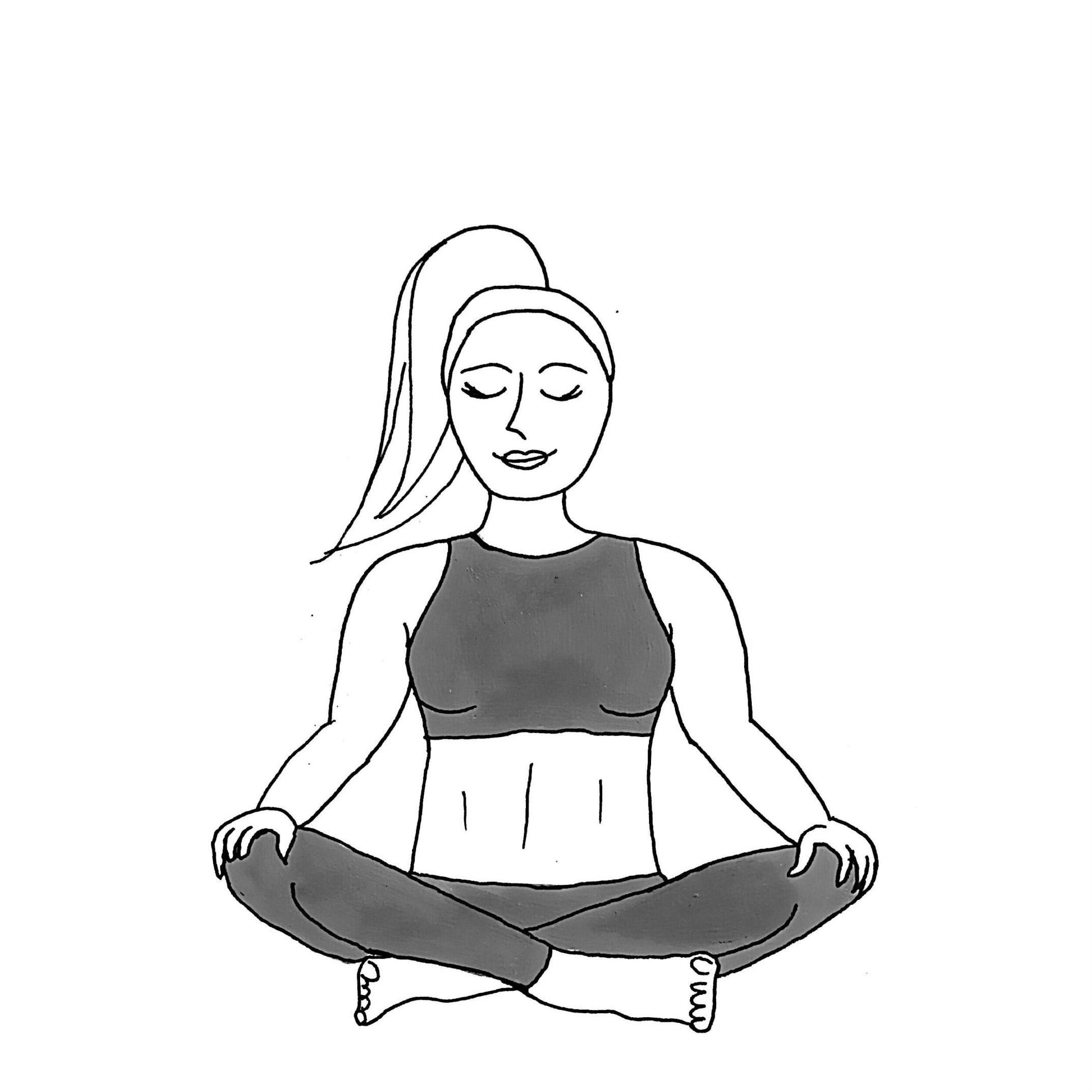 Easy Pose - Sukhasana