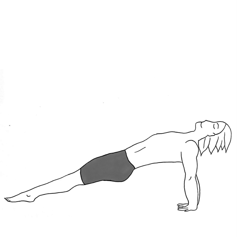 Upward Plank - Purvottanasana