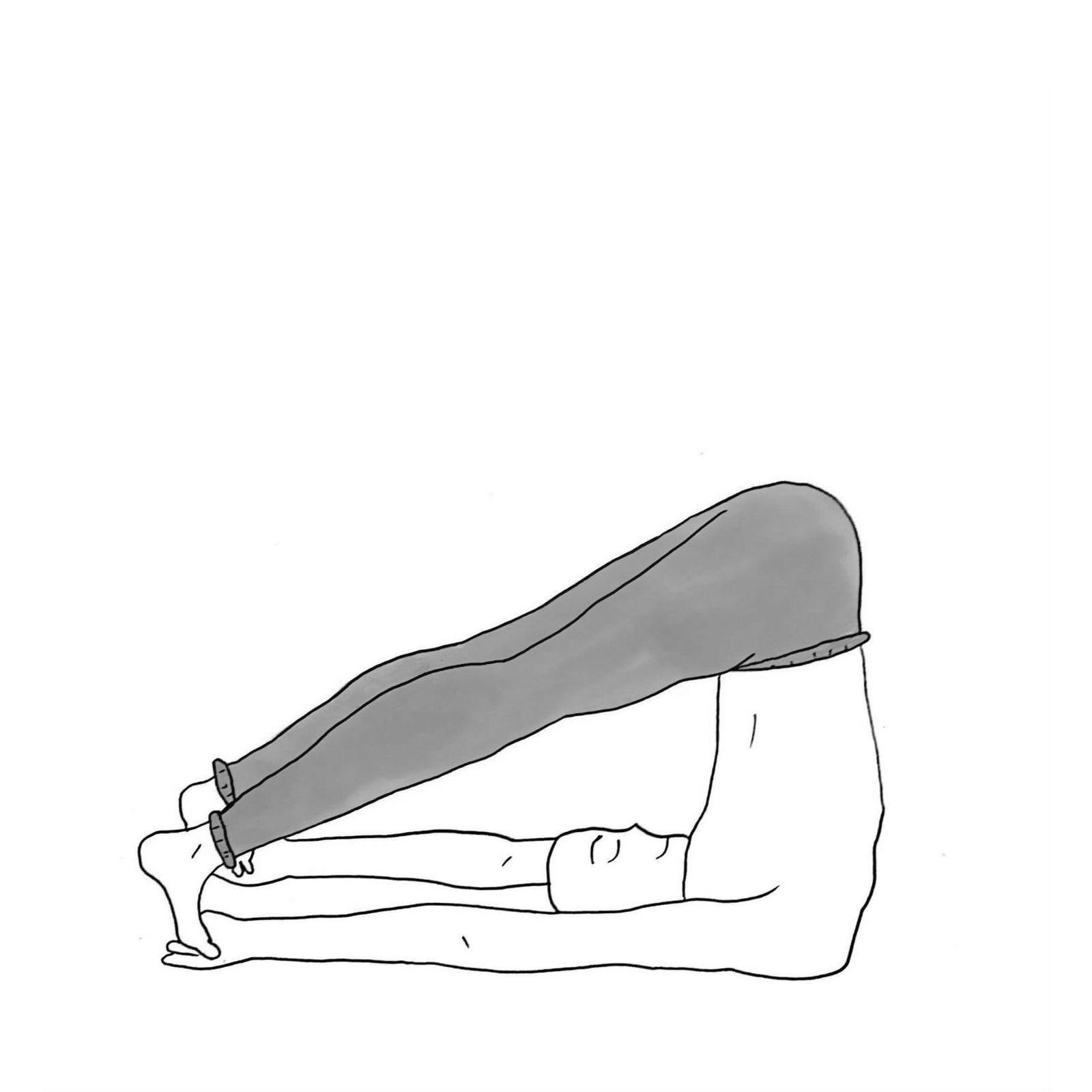 Reclining Angle Pose - Supta Konasana