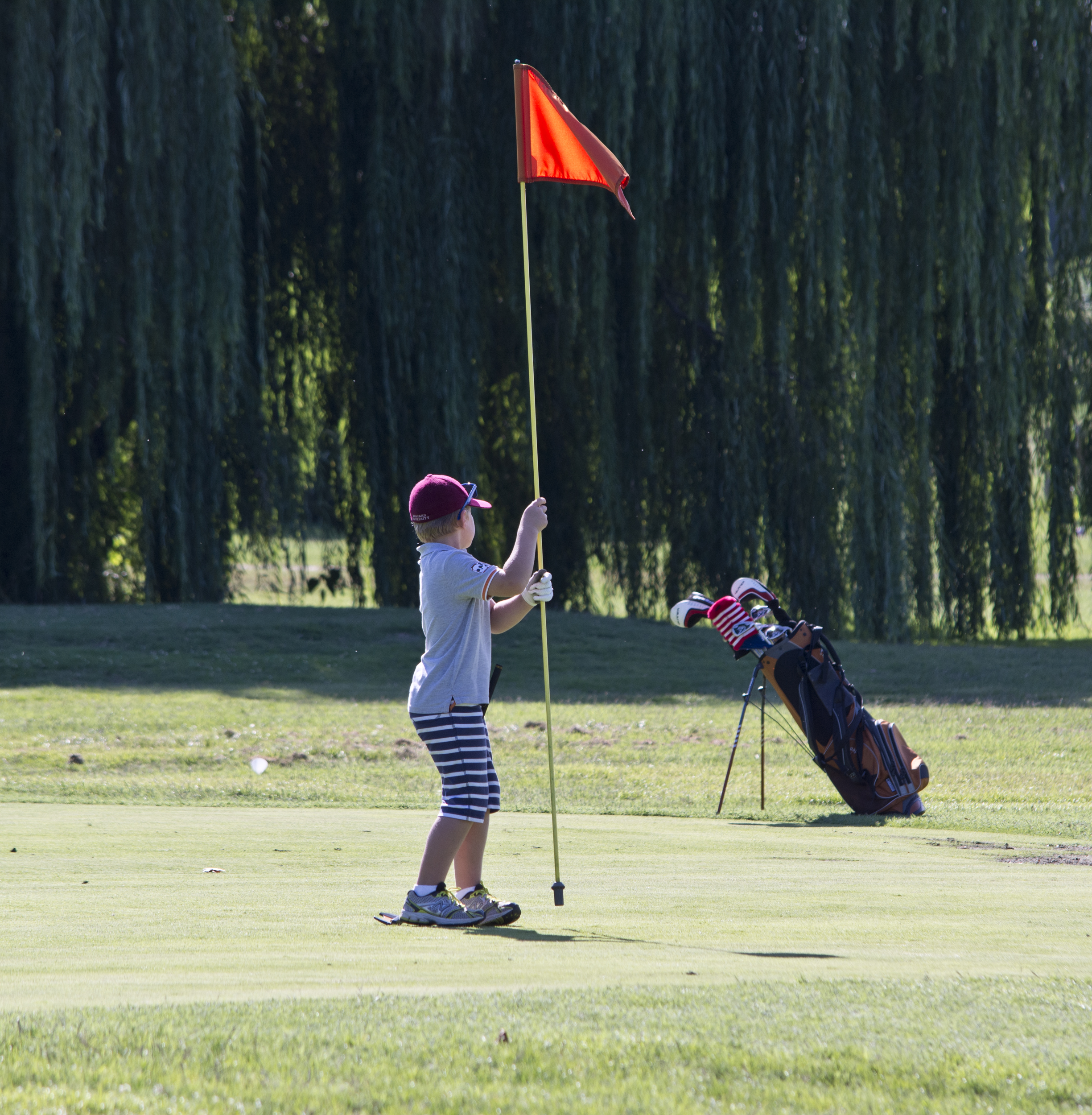 Boy_pulls_on_flag_-_East_Potomac_Golf_Course_-_2013-08-25.jpg