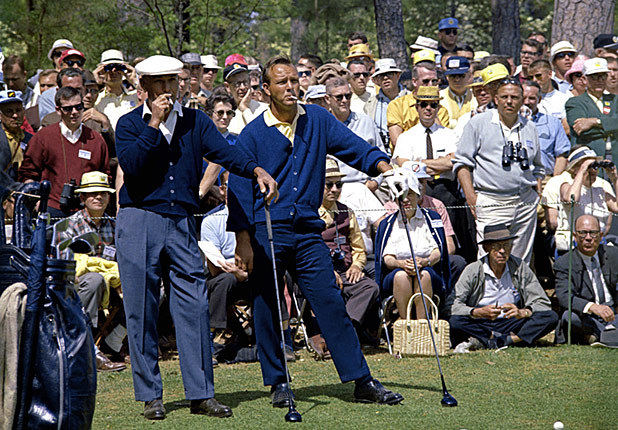 Ben Hogan and Arnold Palmer