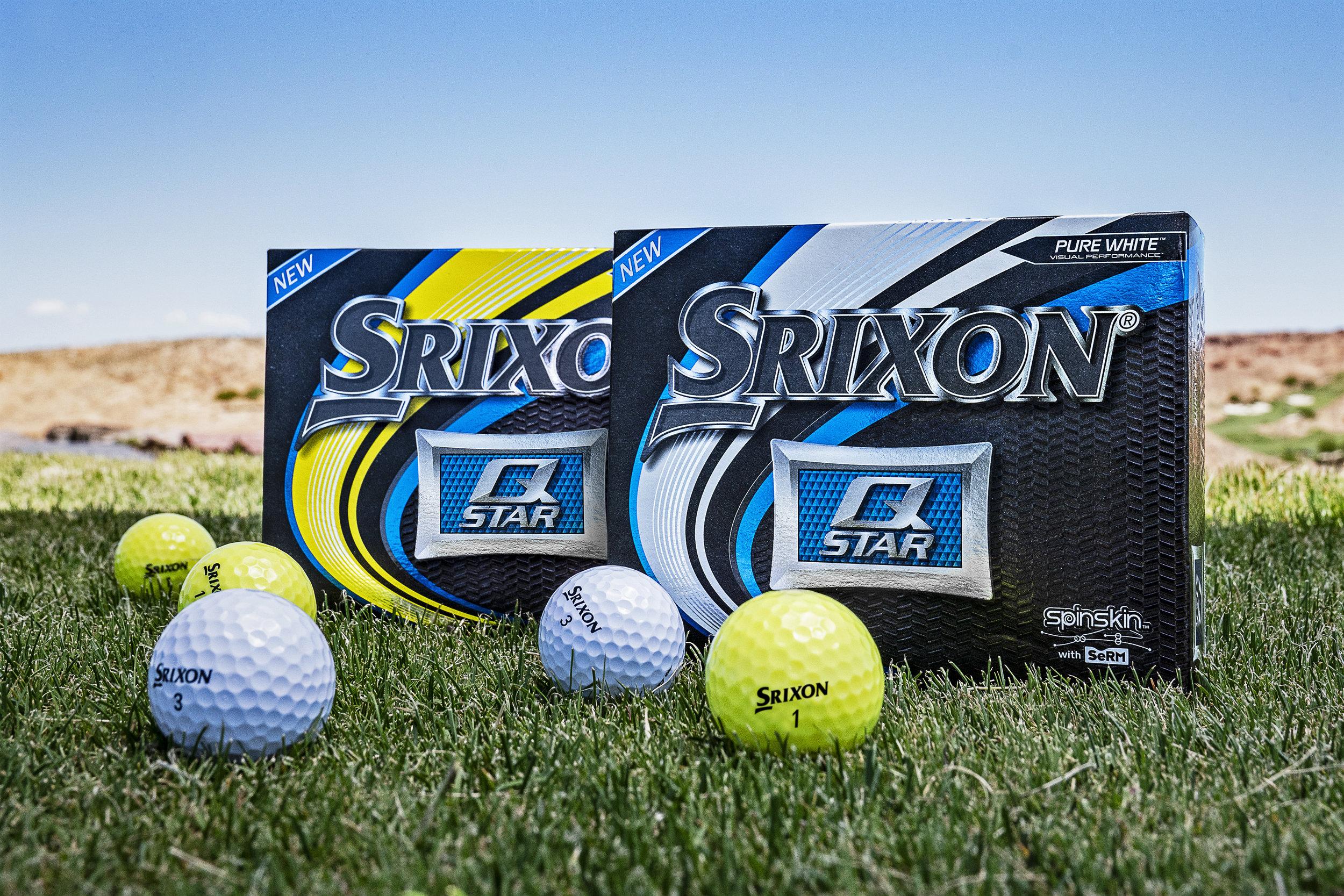 Srixon Q-STAR golf balls, fifth generation.