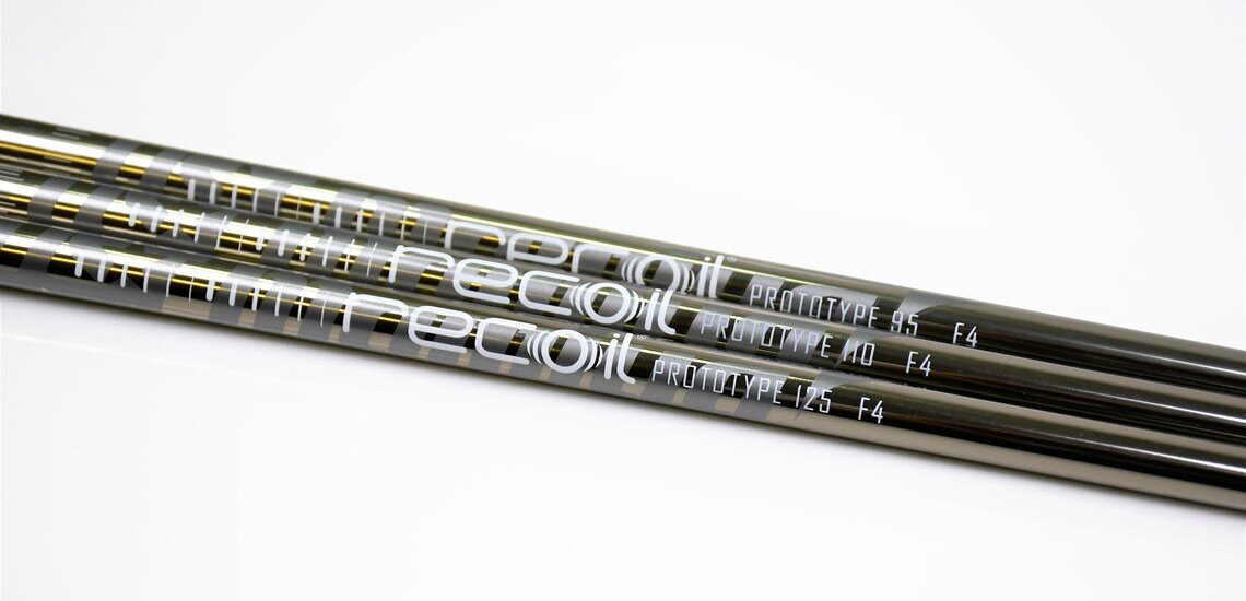 UST Mamiya Recoil Prototype shafts.