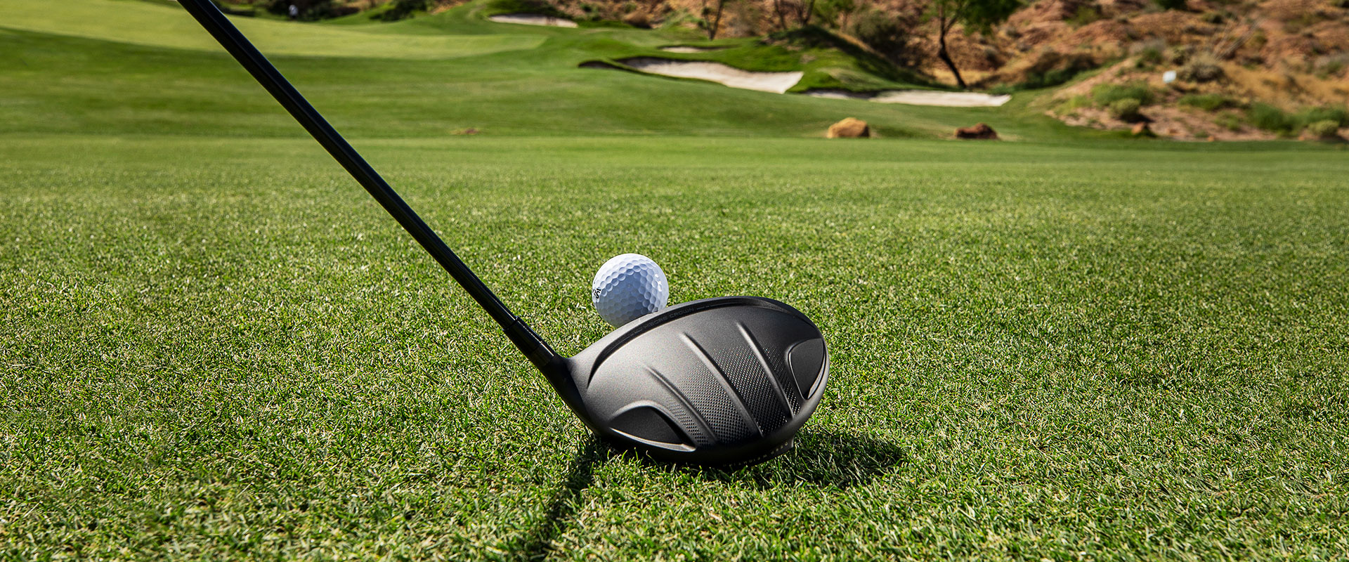 Cleveland Golf Launcher HB Turbo driver crown.