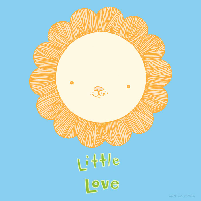 LITTLE LOVE  baby/ small wonder, lion, sun, babies, kids, children, babes, mood, rawr.