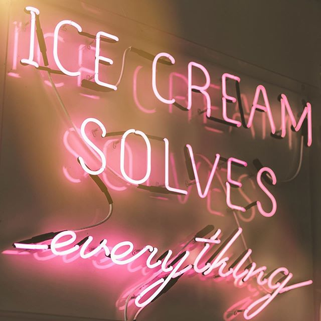 ...like this heat happening right now! 🔥 • • • • • • • • • • #mood #tuesday #icecream #summer #summertime #june #pink #goodvibes #oc #brea #fullerton #design #graphicdesign #creative #love #hot #cool #abmlifeiscolorful #happinessbegins