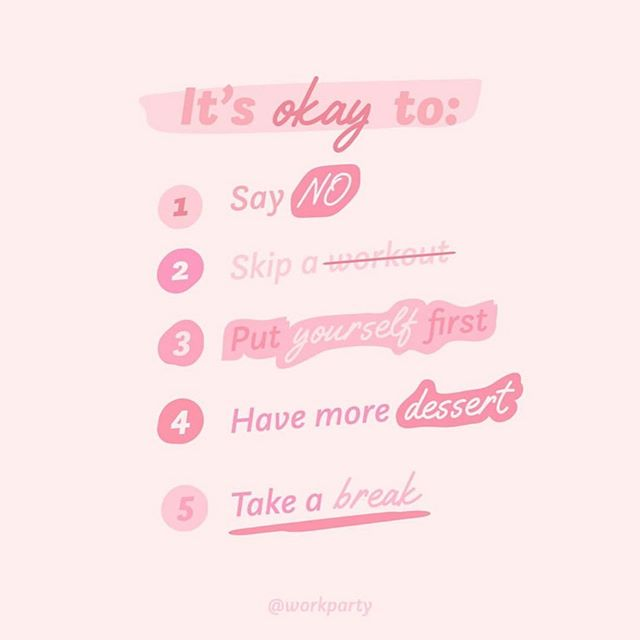 @workparty could've not said it better. A little reminder to everyone: whatever it is, it's okay 👌🏼 • • • • • • • • • • #thursday #reminder #itsokay #choosehappiness #happiness #hellosunshine #pink #bossbabes #bossbabe #empower #empowerwoman #womansupportingwoman #love #dessert #ican #repost #workparty #amblifeiscolorful #amblifeisbeautiful #brides #partyplanner #weddingplanning #shopsmall #brea #oc #orangecounty #happy #colors #design #no