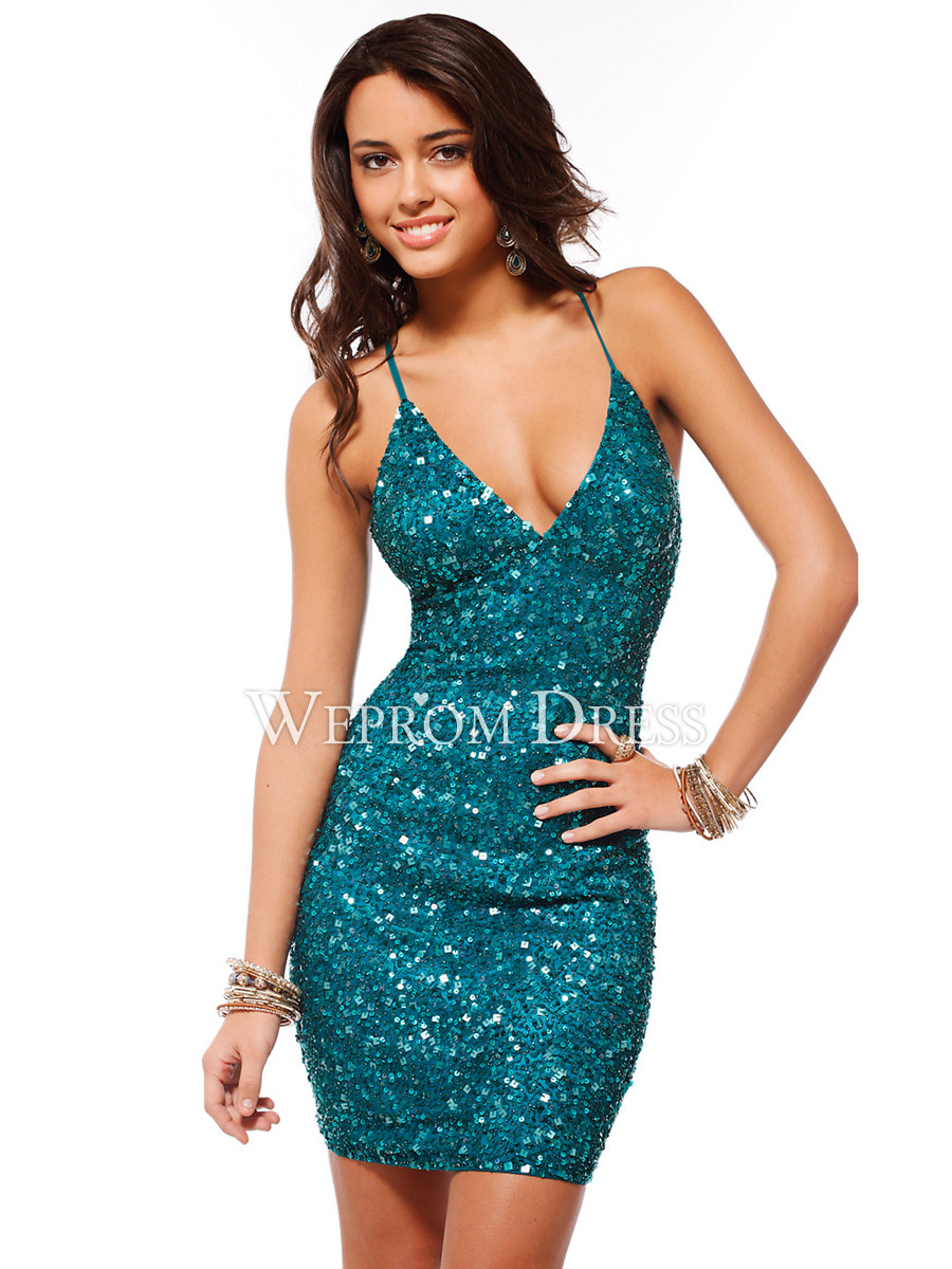 Sequined Short Cocktail Dress- $109.99