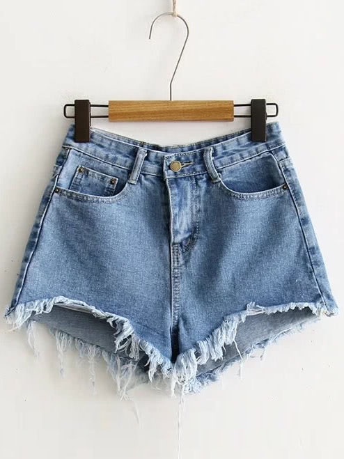 High Waisted Jean Shorts- $15.99