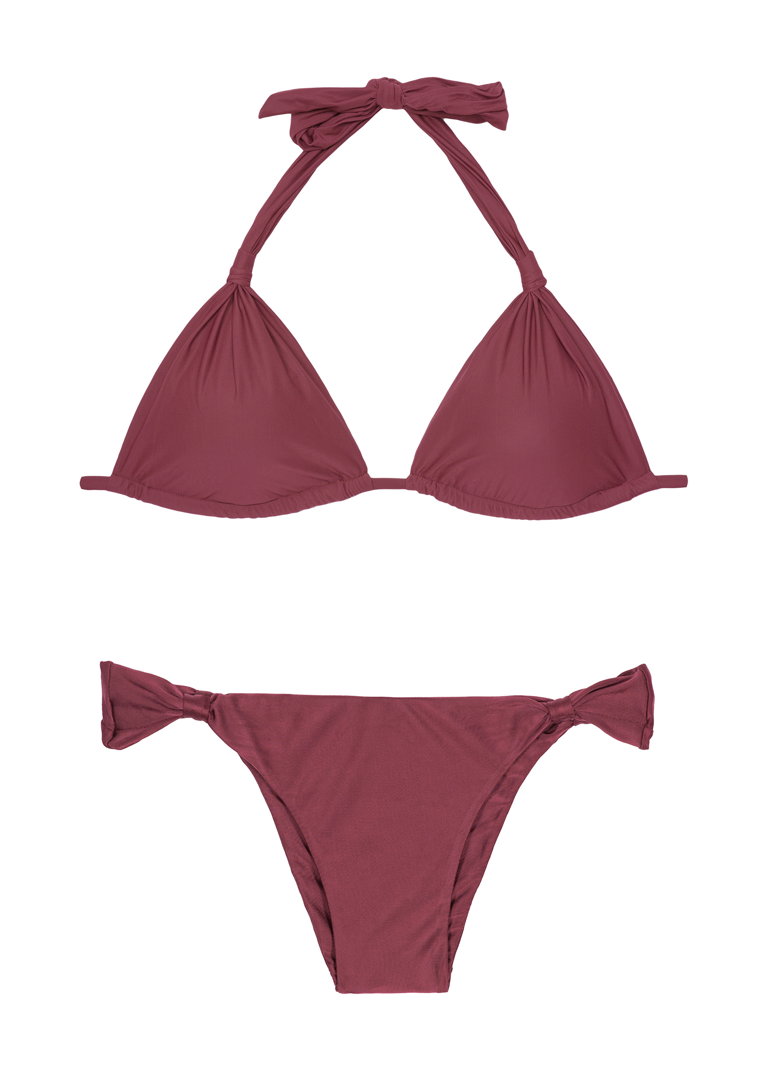 Rib Triangle Bikini Set- $4.99