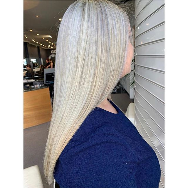 Another perfect blonde nailed by @haircreatedbynay_  #icyhair #blondehair #icyblonde #icyondehair #hairgoals #foils #blondefoils #straighthair #longblondehair #longhair #hobarthair #hobarthairdresser #hobartsalon #hobarthair #Tasmaniansalon #instahair #longhair #hobarthairstylist #tashairstylist #kevinmurphy #goldwell #goldwellaus #kmshair #kmsausapproved #cloudnine
