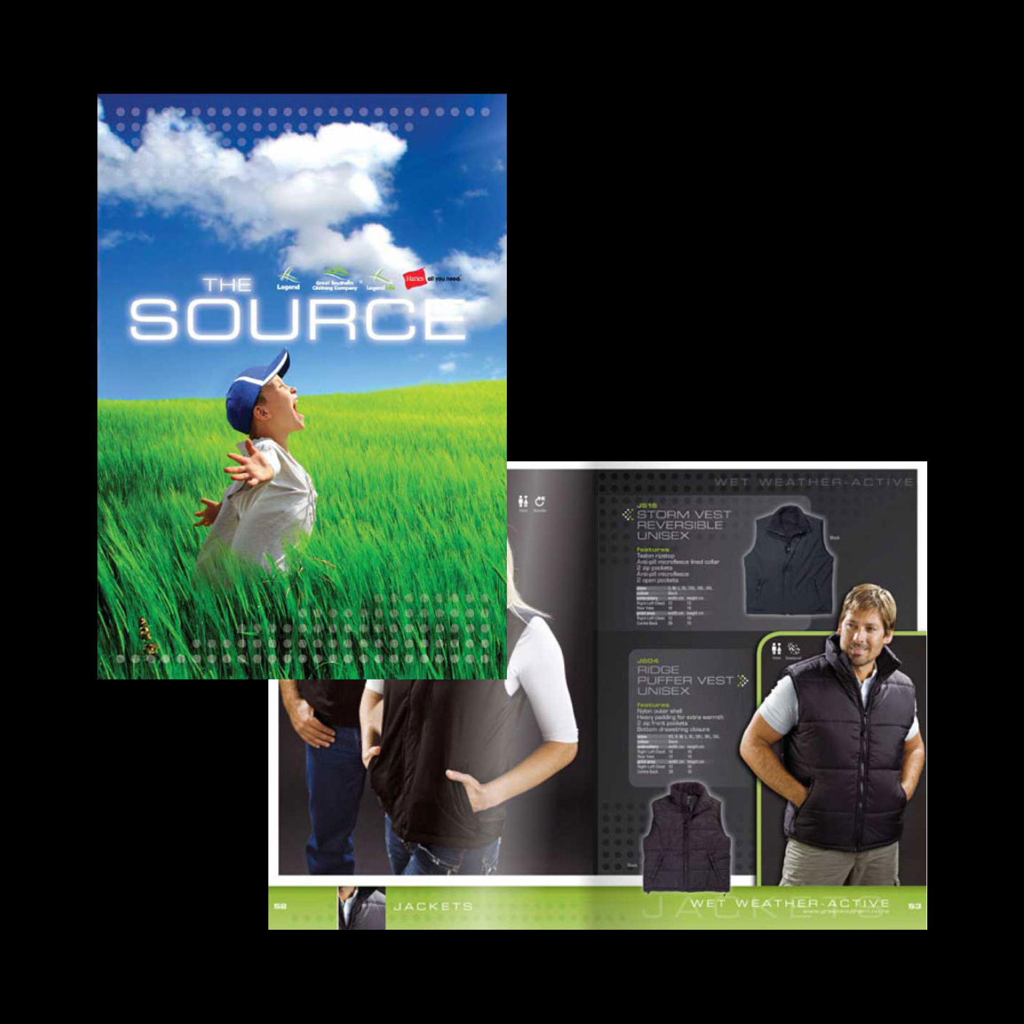 Promotional product brochure design