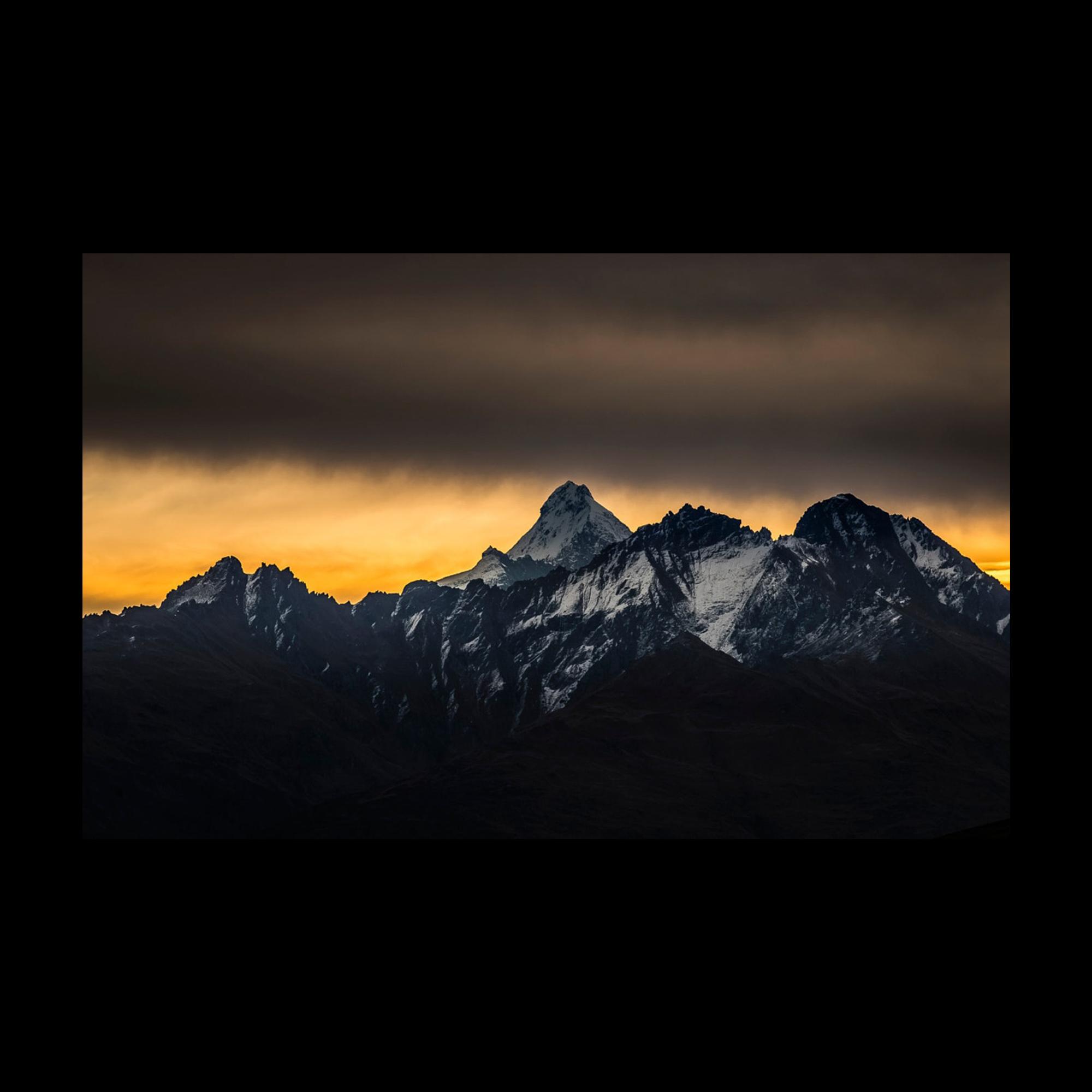 Mount Aspiring sunset