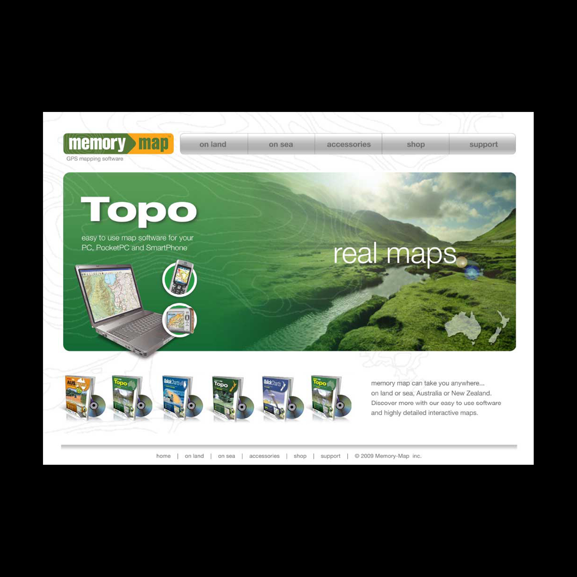 Memory Map website
