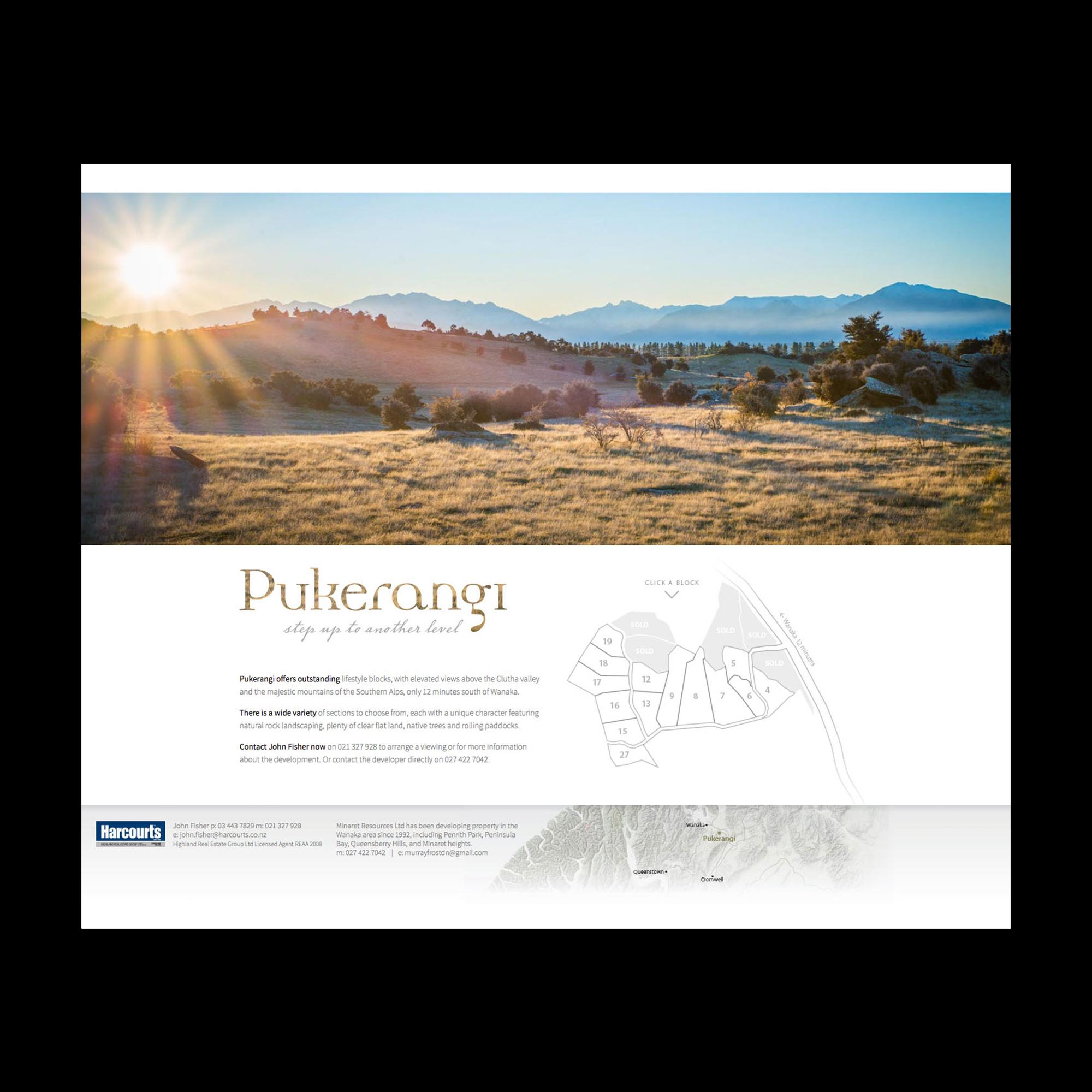 Pukerangi website