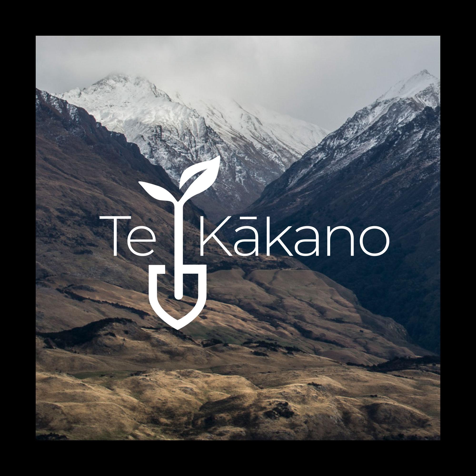 Te Kakano brand design
