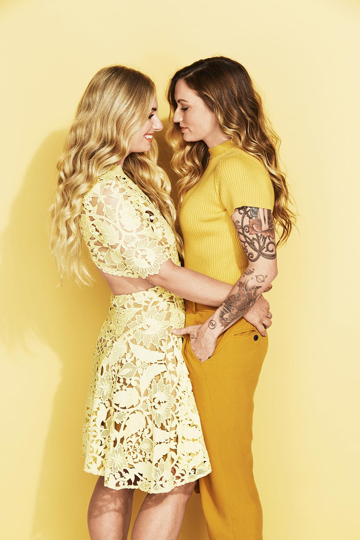 Cosmopolitan Bride Magazine - 'Love is Love'Rainbow Shoot