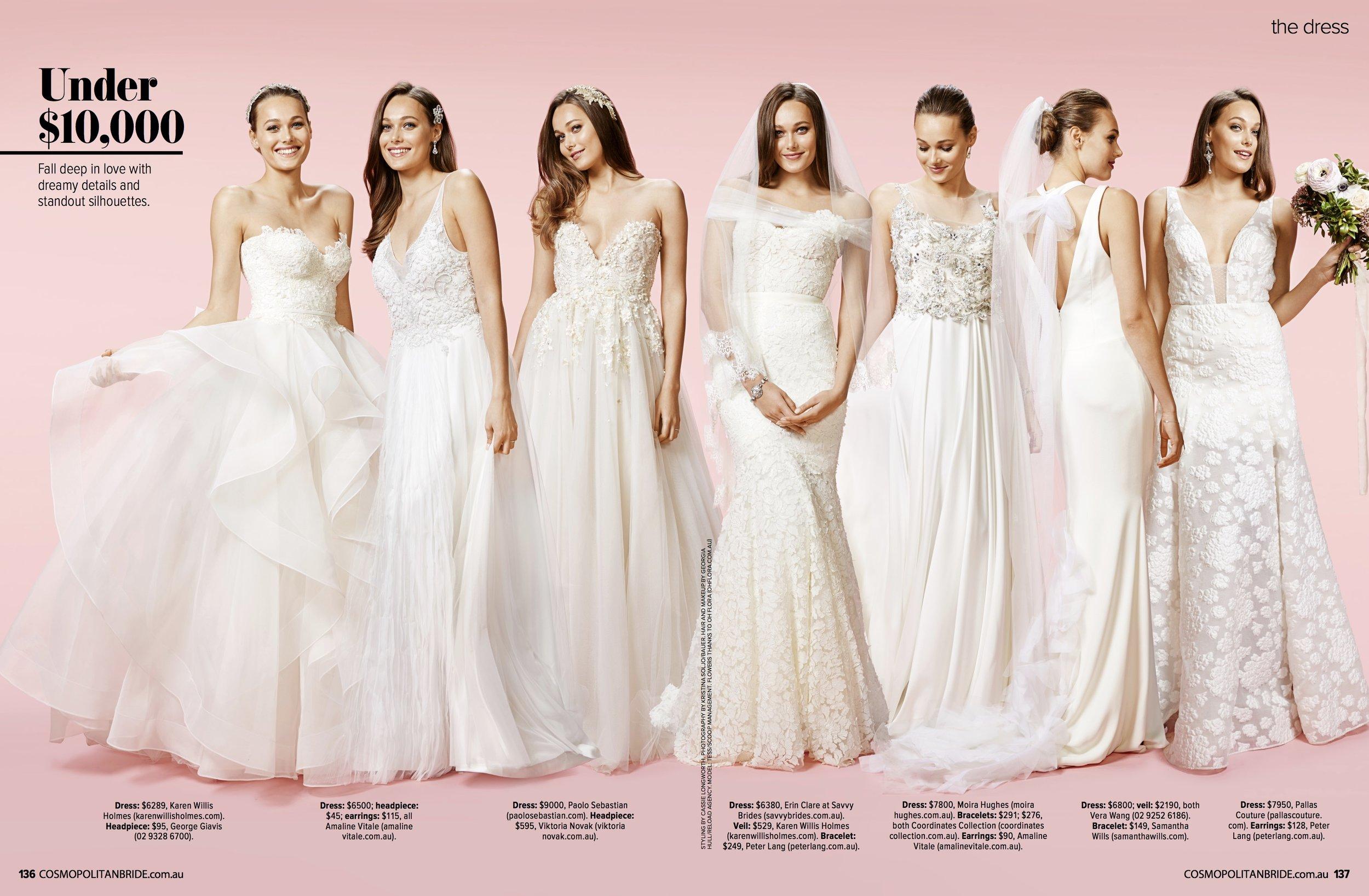 Cosmopolitan Bride Magazine - The Dress 2015