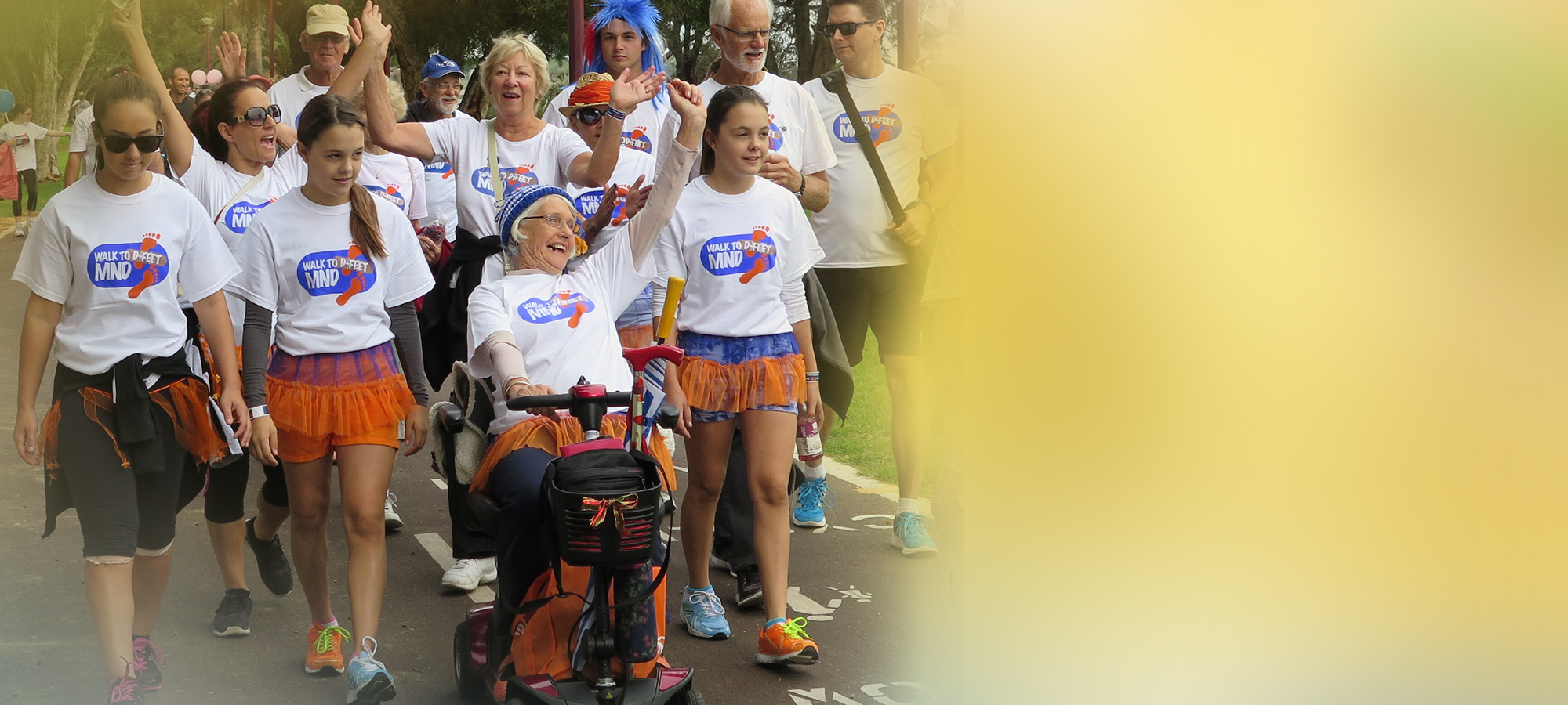 Donate Now   A tax-deductible donation of $2 or more will help us provide specialist care and support services to people living with MND and their families in WA   Donate now